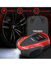 New TEROMAS Portable Air Compressor DC/AC Air Pump for Car Tires 12V