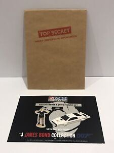1997 Corgi James Bond Lotus Esprit Submarine 65001 Certificate + Envelope