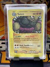 Golem 49/165 Reverse Holo Expedition Base Set MP Pokemon Card