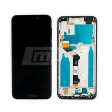 Original Motorola One XT1941 LCD Display Frame Assembly w/Touch - Black