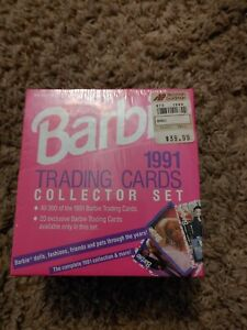 Barbie 1991 TRADING CARDS COLLECTOR SET *Factory Sealed* 300 Cards. Free shippin
