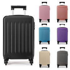 MISS LULU Ryanair EasyJet Case Bag Hand Cabin Spinner Trolley Luggage Suitcase