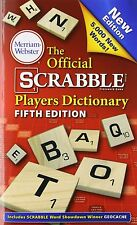 The Official Scrabble Players Dictionary (Fifth Edition), New, Free Shipping