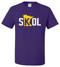 """SKOL"" T-Shirt or Hoodie viking chant mpls twin cities minnesota vikings purple"
