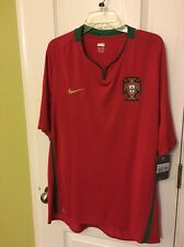 Portugal National Soccer Team 2008 Nike Authentic Supporter Jersey Size  X-Large