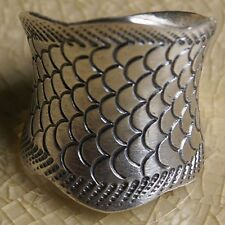 Karen Hill tribe Ring Silver Size.Us=9 Uk=R Adjustable
