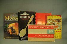 lot vtg recipe cook books cookbooks cooking