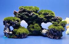 Aquarium Coral Reef Rock Imitation Coral Reef Moss Decor Marine Cichlid AK779