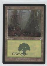 2000 Magic: The Gathering - Invasion Booster Pack Base 350 Forest Magic Card q0l