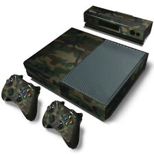 XBOX ONE skin & Controllers Skin Vinyl Sticker Camouflage Camo Military new