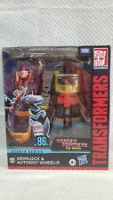 Transformers Studios Series Leader Class Grimlock With Wheelie 86-06 In-hand
