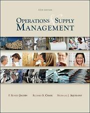 Operations and Supply Management by F. Robert Jacobs, R. Chase, N. Aquilano