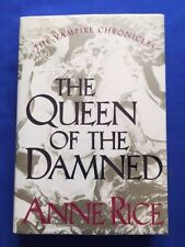 THE QUEEN OF THE DAMNED - 'COMP' COPY INSCRIBED BY ANNE  RICE