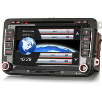 Bluetooth USB Autoradio GPS Navigation CD MP3 SD for VW Passat CC 3C Golf  V VI