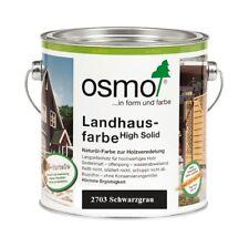 Osmo Landhausfarbe HS 2703 Schwarzgrau 750 ml
