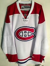 Reebok Premier NHL Jersey Montreal Canadiens Team White Alt sz XL
