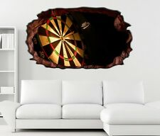 3D Wandtattoo Sport Dart Pfeil Dartscheibe Bild sticker Wand Aufkleber 11H1468