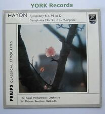GBL 5632 - HAYDN - Symphonies No 93 & 94 BEECHAM Royal Phil Orch - Ex LP Record