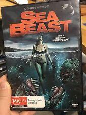 Sea Beast ex-rental region 4 DVD (2008 monster horror / thriller movie) rare