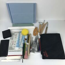 Polymer Clay Sculpting Tools Mixed Lot Pottery Carving Cutting Arts Crafts