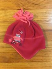 9f69ba208f785e Girls REI Owl Fleece Hat Size 12-24 Months