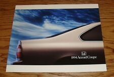 Original 1994 Honda Accord Coupe Deluxe Sales Brochure 94