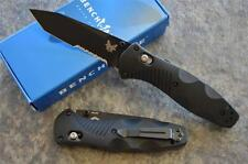 Benchmade 583SBK Barrage Spring Assisted Opening Knife w Axis Lock & Tanto Blade