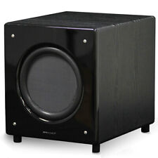 "Pure Acoustics SN-10 SUB 10"" 150W Active Subwoofer Speaker for Home Theatre BLK"
