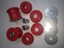Nissan 200SX S13/S14 Skyline R32/R33 Subframe Duraflex extreme Bushes in red