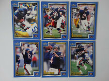 1999 Score Series 1 Chicago Bears Team Set of 6 Football Cards