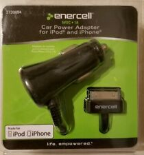 Enercell 5VDC/1.5A Car Power Adapter for iPod and iPhone with 30 PIN - 2730694