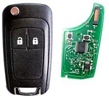 Auto Funkschlüssel 2 Tasten 433MHZ für CHEVROLET Matiz Kalos Aveo Cruze Captiva
