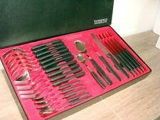 Neues AngebotVictorinox Besteck 24-teilig Tafelbesteck schwarz 5.1333.24 Messer Gabel Löffel