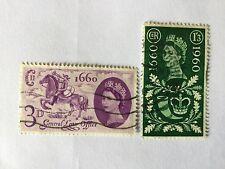 UK Great Britain 1960 SC# 375-376  complete Set Nice Lot 92