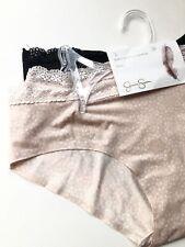 NWT Jessica Simpson 3 Pack Boyshorts Hipster Panties SizeL Pink Black Floral