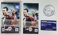 Fifa 06, Sony PSP, PAL-ESP.