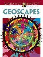 Adult Coloring: Creative Haven Coloring Book Geoscapes Hop David