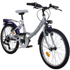 Child's Bicycle 20 Inch Disney Descendants Bike White Purple Since Ca 6 Jahre