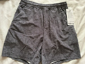"""Lululemon Pace Breaker Short 7"""" Linerless Men's Grey Size Medium $68"""