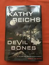 Devil Bones  - Kathy Reichs 1st / 1st signed by author - revised price