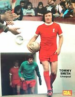 GOAL football magazine retro A4 picture poster Liverpool - VARIOUS