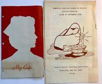 Houston Memorial Hospital School Of Nursing 1948 Capping Exercise Cullen Bldg