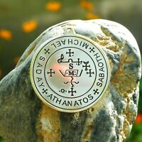 925 Sterling Silver Brimstone Ring Leviathan Cross - Sigil