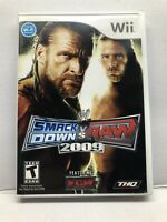 WWE SmackDown vs. Raw 2009 Featuring ECW (Nintendo Wii) Clean & Tested Working
