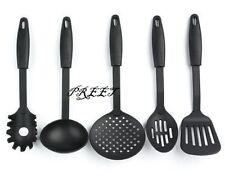 5PC conjunto de utensilios de Nylon Skimmer Colador Tamiz cuchara ranurada Espátula De Cocina Cuchara