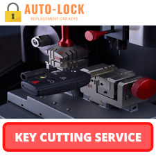 Car Key Cutting Service - Mail Order - Ford BMW Volkswagen Audi Ect