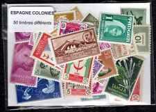Espagne colonies - Spain colonies 50 timbres différents
