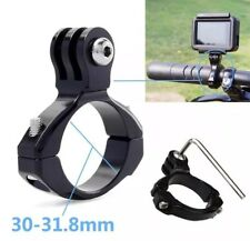 GoPro Hero Bike Aluminium Handlebar Camera Mount Bracket 30-31.8mm Hero 1 2 3+ 4