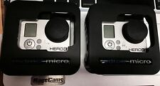 1 GoPro Hero3 Black Camera with RedRock Case & LCD BacPAC - Bundle