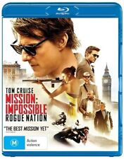 Mission Impossible - Rogue Nation (Blu-ray, 2015)